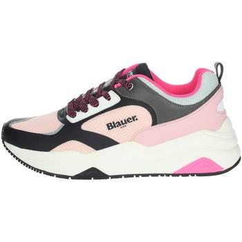 Chaussures Femme Baskets basses Blauer TAYLOR01 Noir/ rose