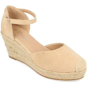 Chaussures Femme Espadrilles Prisska DFY1099 Beige