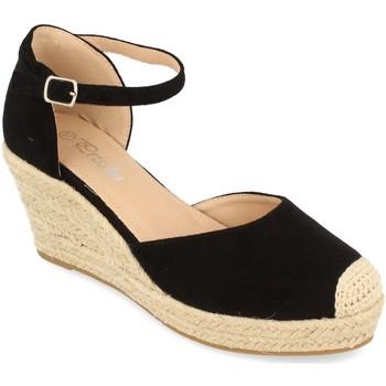 Chaussures Femme Espadrilles Prisska DFY1099 Negro