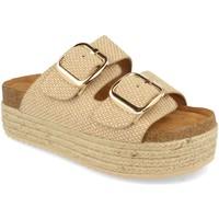Chaussures Femme Mules Buonarotti 1BD-1179 Beige