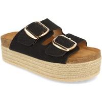 Chaussures Femme Mules Buonarotti 1BD-1179 Negro