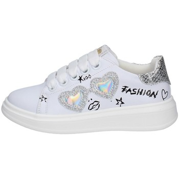 Chaussures Fille Baskets basses Asso AG-10300 BLANC