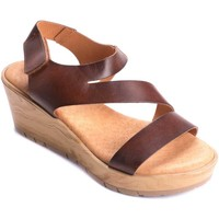 Chaussures Femme Sandales et Nu-pieds Wikers 69817 BROWN