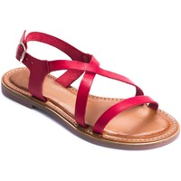 Chaussures Femme Sandales et Nu-pieds Wikers 69858 RED