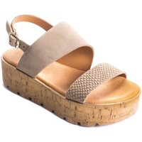 Chaussures Femme Sandales et Nu-pieds Wikers 69867 BROWN