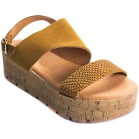 Chaussures Femme Sandales et Nu-pieds Wikers 69868 LEATHER
