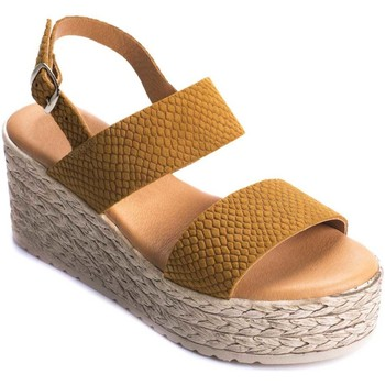 Chaussures Femme Sandales et Nu-pieds Wikers 69882 BROWN