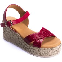Chaussures Femme Sandales et Nu-pieds Wikers 69891 RED