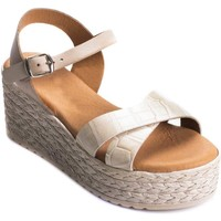 Chaussures Femme Sandales et Nu-pieds Wikers 69892 LEATHER