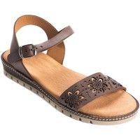 Chaussures Femme Sandales et Nu-pieds Wikers 69920 BROWN