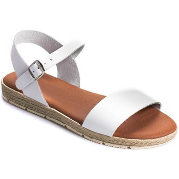 Chaussures Femme Sandales et Nu-pieds Charity 70018 WHITE