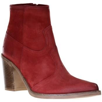 Chaussures Femme Bottines Emanuele Crasto 5031 Rouge