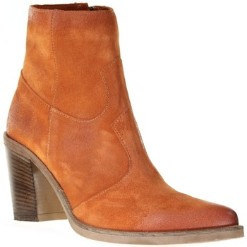 Chaussures Femme Bottines Emanuele Crasto 5031 Orange