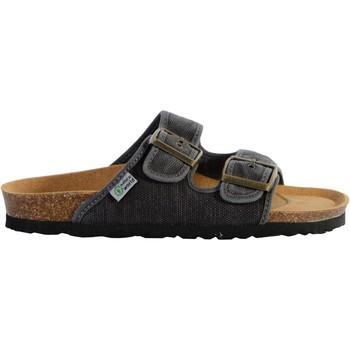 Chaussures Femme Mules Natural World Sandales Eco-Responsable Bio Enzimatico Noir Enz