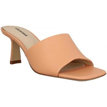 Chaussures Femme Mules Lola Cruz 124 cuir Femme Orange Pale Orange