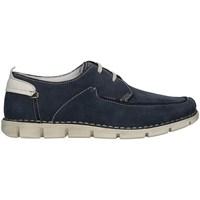 Chaussures Homme Baskets montantes Valleverde 20861PE21 faible Homme Bleu