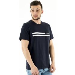 Vêtements Homme T-shirts manches courtes Aigle raumor 20 marine bleu