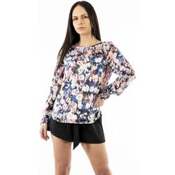 Vêtements Femme T-shirts manches longues Only zoe cloud dancer blanc