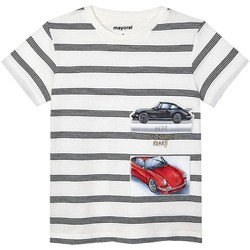 Vêtements Garçon T-shirts & Polos Mayoral  Blanco