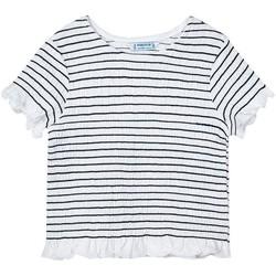 Vêtements Fille T-shirts & Polos Mayoral  Negro