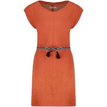 Vêtements Femme Robes Deeluxe Robe TIME Terracota