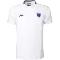 Vêtements Homme T-shirts manches courtes Kappa ANGELICO FC GRENOBLE RUGBY Blanc