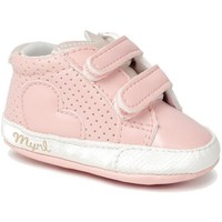 Chaussures Fille Baskets montantes Mayoral 25133-15 Rose