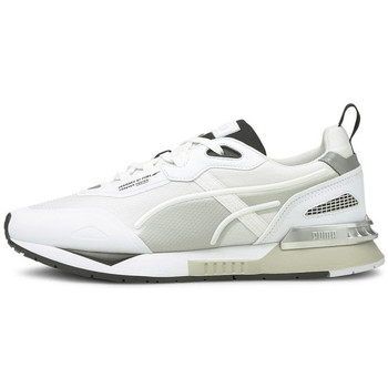 Chaussures Homme Baskets basses Puma Basket  MIRAGE Blanc
