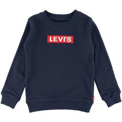 Vêtements Garçon Sweats Levi's - Felpa blu 8EB821-U09 BIANCO