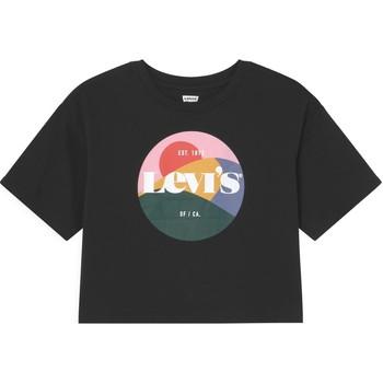 Vêtements Fille T-shirts manches courtes Levi's - T-shirt nero 3EC767-023 NERO