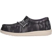 Chaussures Garçon Mocassins Hey Dude - Sneaker blu WALLY YOUTH 2557 BLU