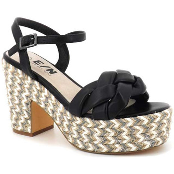 Chaussures Femme Sandales et Nu-pieds Elue par nous Jitool Noir
