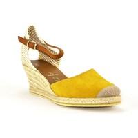 Chaussures Femme Espadrilles Kedzaro ANTONAJAUNE JAUNE OCRE