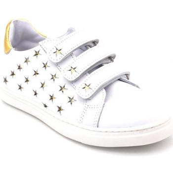 Chaussures Fille Baskets basses Bellamy tara blanc