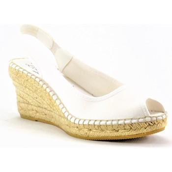 Chaussures Femme Espadrilles La Maison De L'espadrille 660-1BLANC BLANC