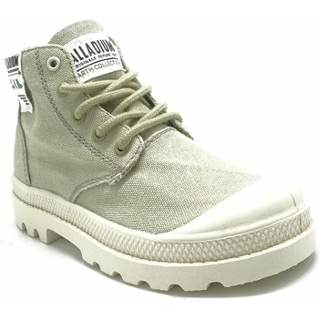Chaussures Baskets basses Palladium Manufacture HI ORGANIC K 76495 BEIGE