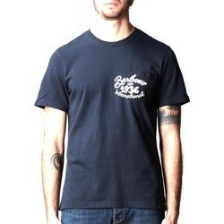 Vêtements Homme T-shirts manches courtes Barbour - T-shirt blu MTS0835-NY91 BLU