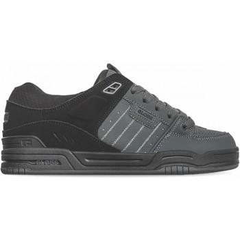 Chaussures Homme Chaussures de Skate Globe FUSION dark shadow black split Noir
