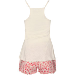 Vêtements Femme Pyjamas / Chemises de nuit Lisca Pyjama short débardeur Limitless  Cheek Rose