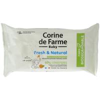 Beauté Produits bains Corine De Farme Lingettes change Fresh & Natural fibres biodégrada Autres