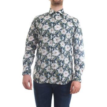 Vêtements Homme Chemises manches longues Xacus 81543.002 Chemise homme fleurs fantaisie fleurs fantaisie