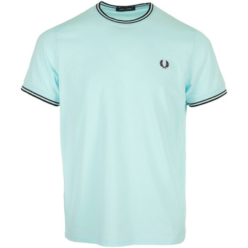 Vêtements Homme T-shirts manches courtes Fred Perry Twin Tipped T-Shirt bleu