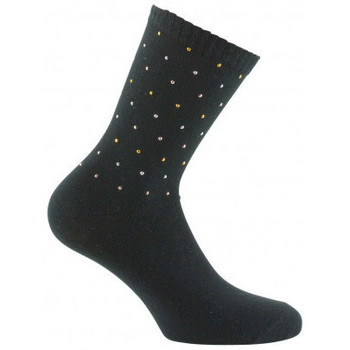 Accessoires Femme Chaussettes Kindy Mi-chaussettes all over clou Noir