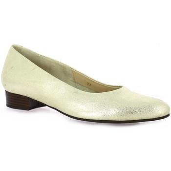 Chaussures Femme Escarpins Vidi Studio Escarpins cuir laminé Or