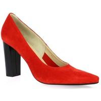 Chaussures Femme Escarpins Vidi Studio Escarpins cuir velours rouge