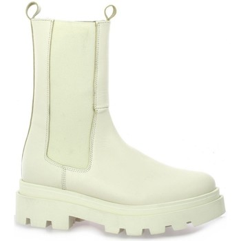 Chaussures Femme Boots So Send Boots cuir Beige
