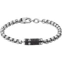 Montres & Bijoux Homme Bracelets Fossil Bracelet  Caravan Blanc