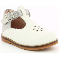 Chaussures Fille Ballerines / babies Aster Noria BLANC
