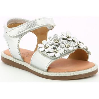 Chaussures Fille Sandales et Nu-pieds Mod'8 Parlotte ARGENT