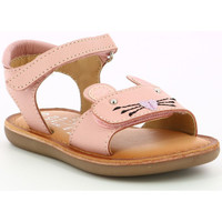Chaussures Fille Sandales et Nu-pieds Mod'8 Cloonie ROSE